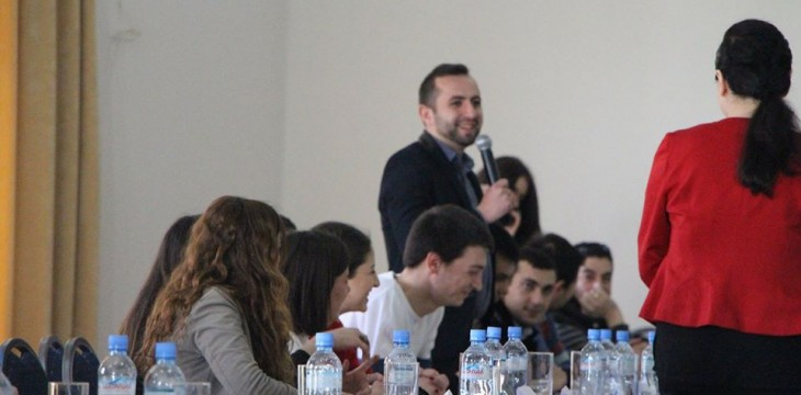 სტუდენტური თვითმმართველობების განვითარების კომისიის სამუშაო შეხვედრა
