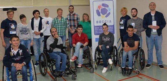 Erasmus + sport Boccia