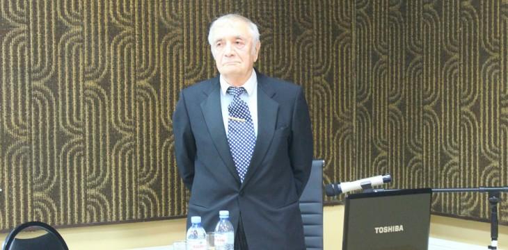 Professor Nugzar Aleksidze's Public Lecture